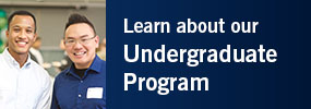Click here for more information about our undergraduate program