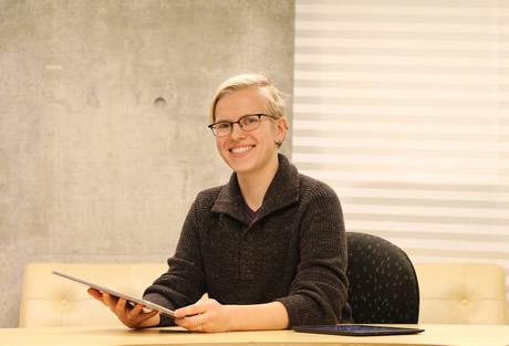 PhD student Benett Axtell