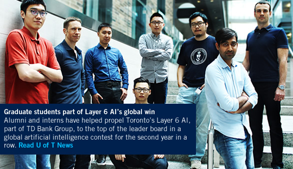 Layer 6 AI researchers