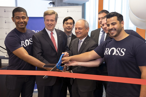 ROSS Ribbon Cutting