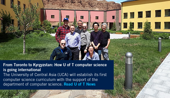 U of T computer science professors in Naryn