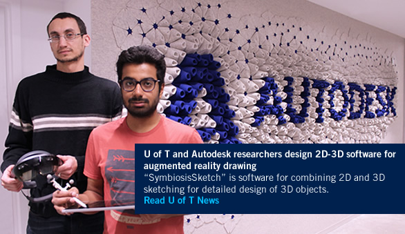 U of T and Autodesk researchers