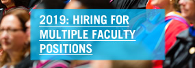 Hiring for multiple faculty positions