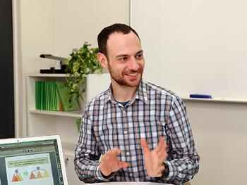 Assistant Professor Benjamin Rossman