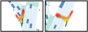 Discrete Residual Flow for Probabilistic Pedestrian Behavior Prediction